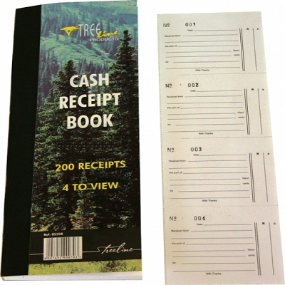 Cash Receipt Book Duplicate