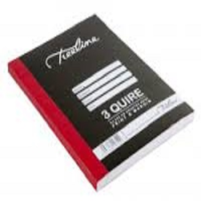 3 Quire Quad&Margin books