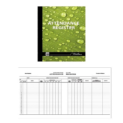 Hard Cover Attendance Register