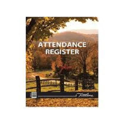 Soft Cover Attendance Register A4