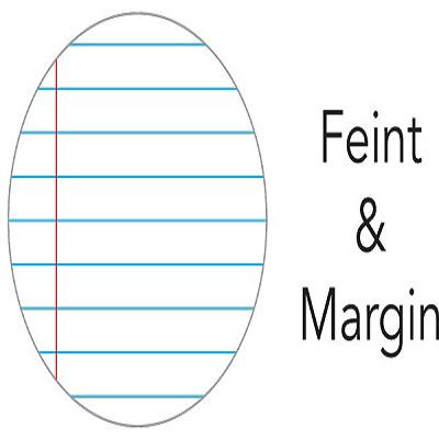 2 Quire Feint&Margin