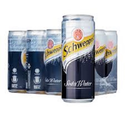 Soda Water Can 200ML Case