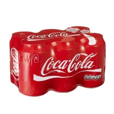 Coca-Cola Can 6 Pack