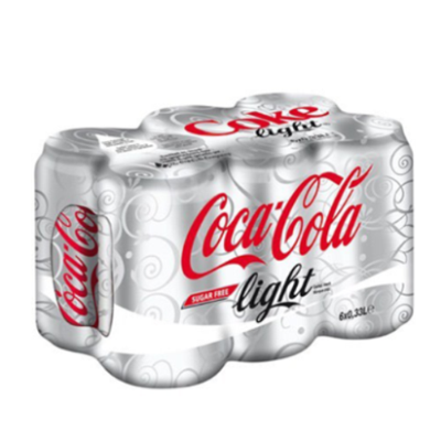 Coke Light 6 pack 330ml