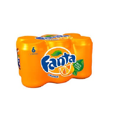 Fanta Orange 330ML Case