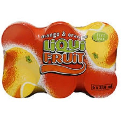 Liqui fruit mango and orange