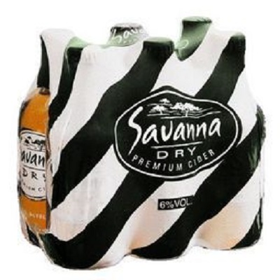 Savanna Dry 340ml Case